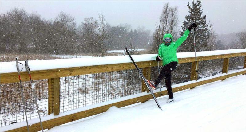 Washtenaw County Cross Country Skiing