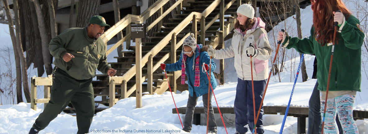 Indiana Dunes Events Cross Country Skiing
