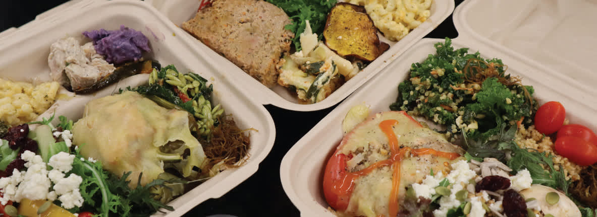 Carry-out, curbside delivery and delivery options
