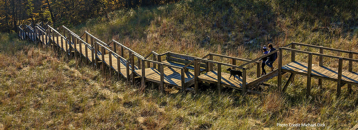 Indiana Dunes State Park trails