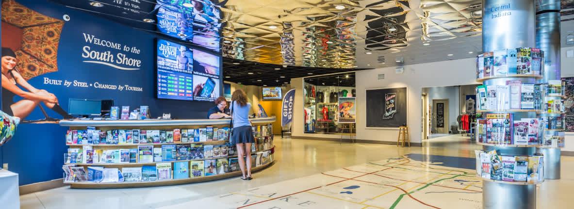 Indiana Welcome Center Visitor Desk
