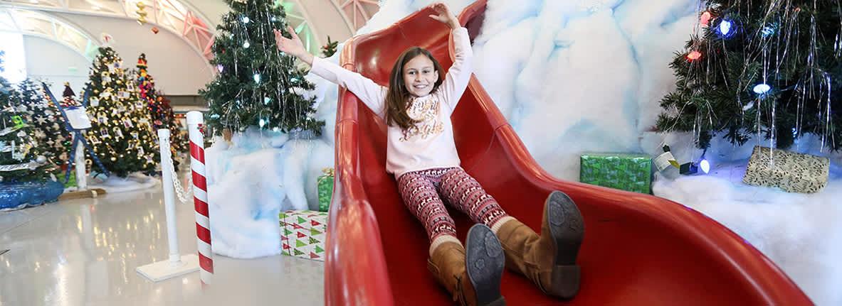 Santa's Mountain Indiana Welcome Center