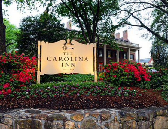 The Carolina Inn Sign Cameron & Columbia