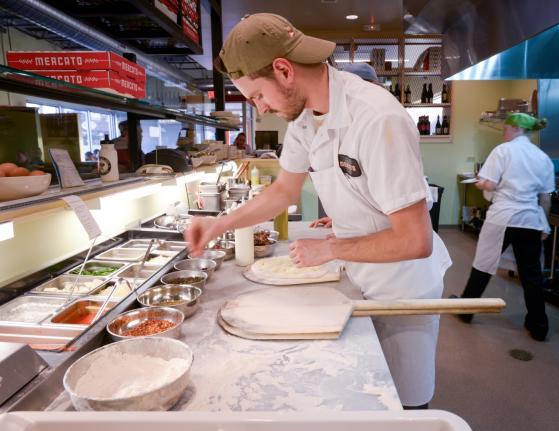 Pizzeria Mercato by Kate Medley