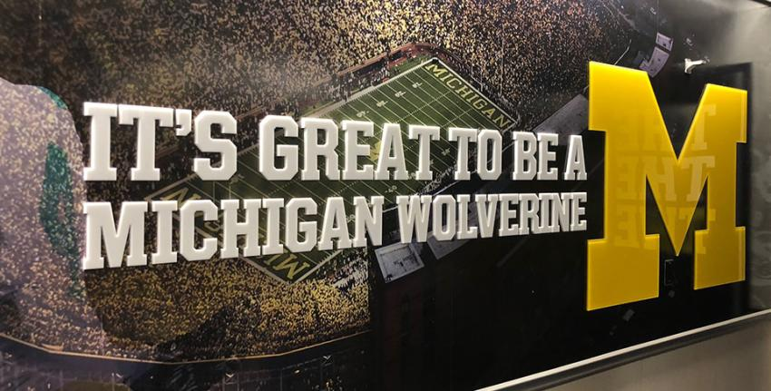 It's Great to Be a Michigan Wolverine