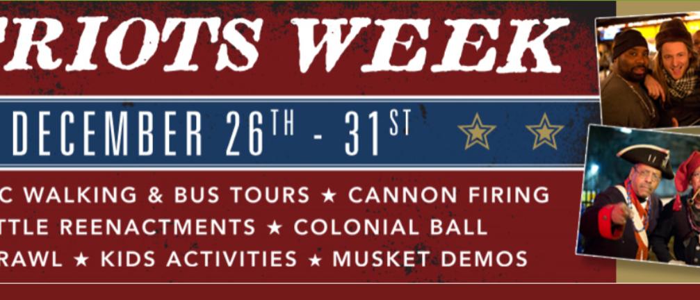 Patriots Week in Princeton | Festivals & Events in Princeton NJ