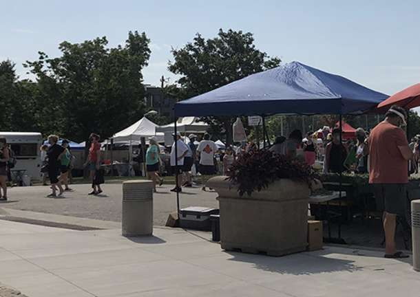 Vendors at OP Farmers Market
