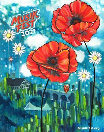 Musikfest Poster 2021