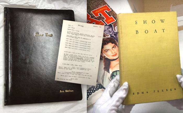 Show Boat Script and Novel