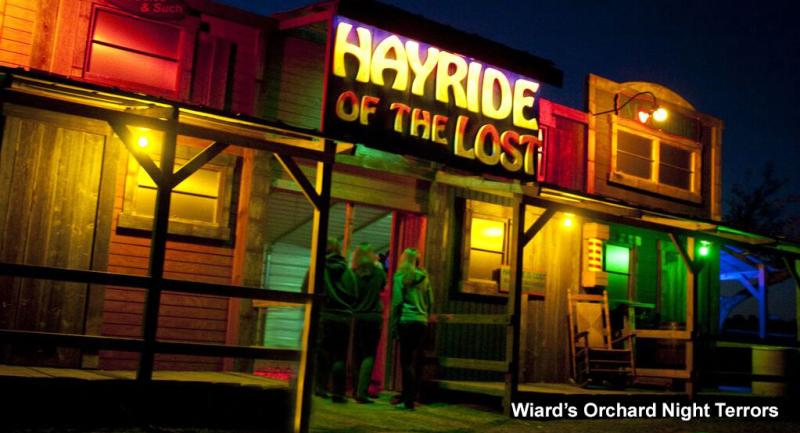 Wiard's Orchard Hayride of the Lost