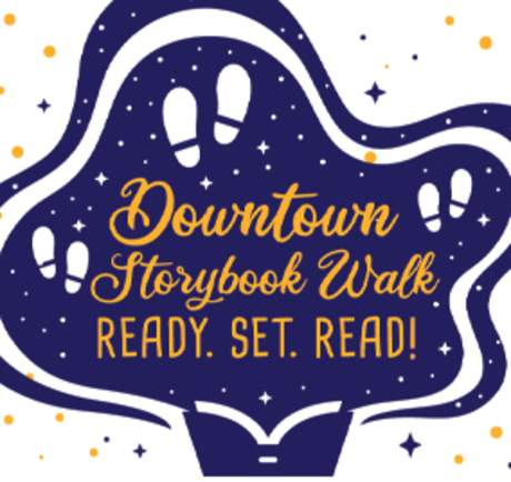 Downtown Storybook walk The dot