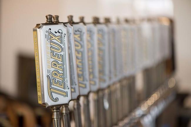 Bruery Terreux beer taps