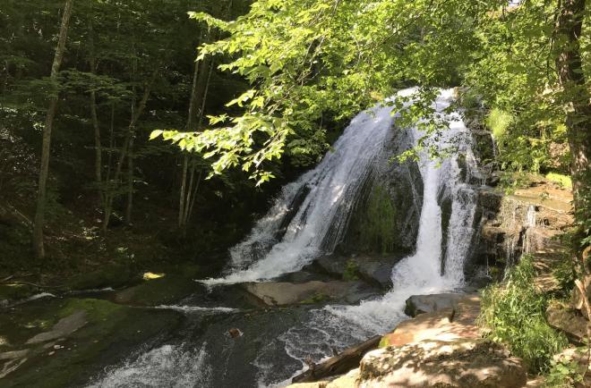 Roaring Run Waterfall - Virginia