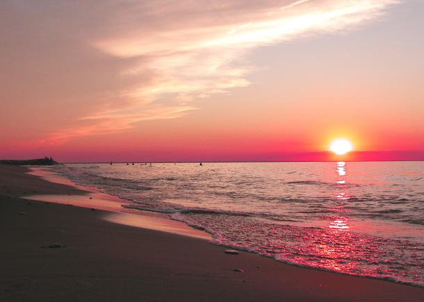Brights Grove sunset