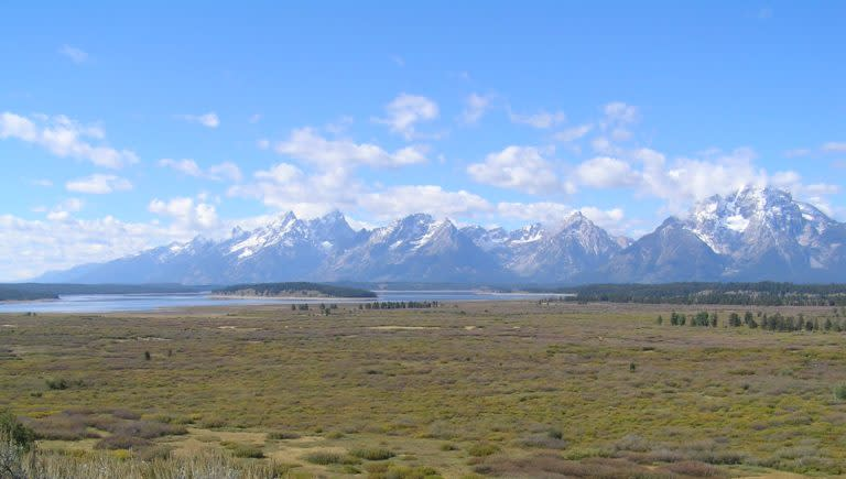 View of Tetons (photo credit National Park Service)