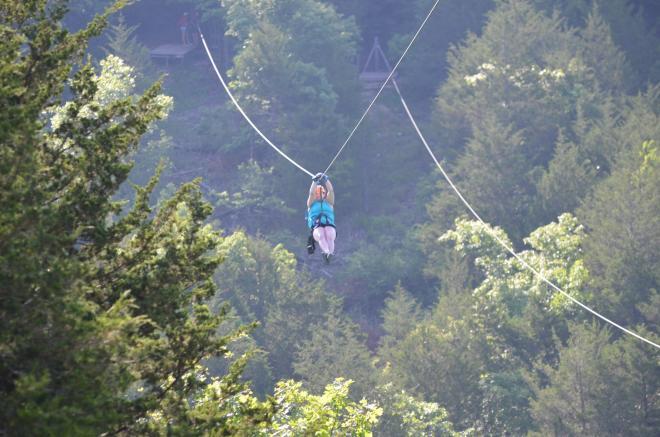 Buffalo Mountain Ziplines - Floyd, VA