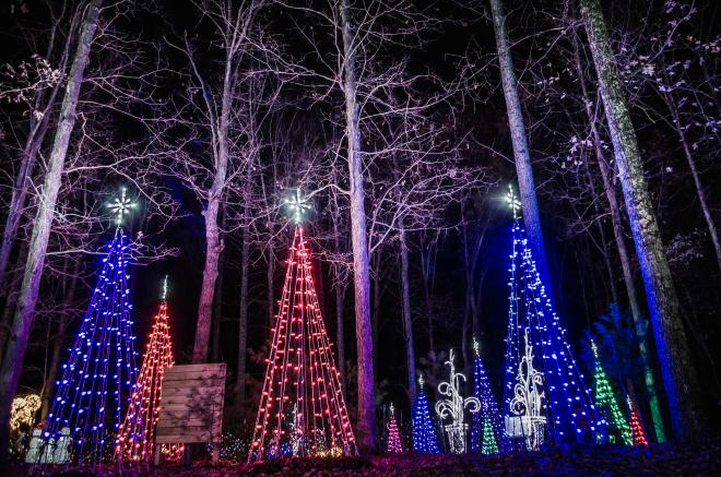 Explore Park - Illuminights - Roanoke County