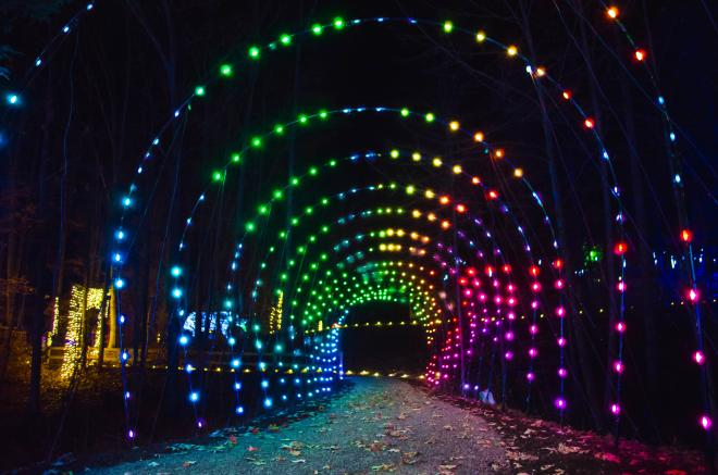 Roanoke County's Explore Park - Illuminights