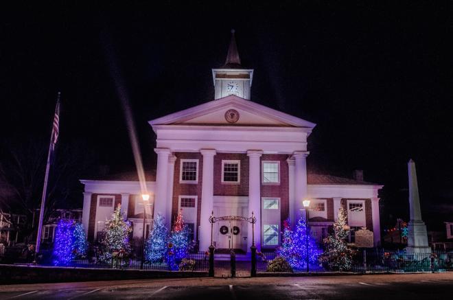 Fincastle Courthouse - Botetourt County