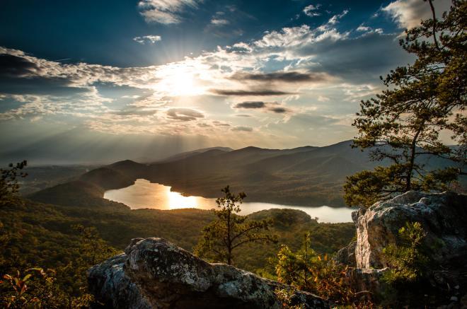 Hay Rock - Appalachian Trail - Roanoke, VA