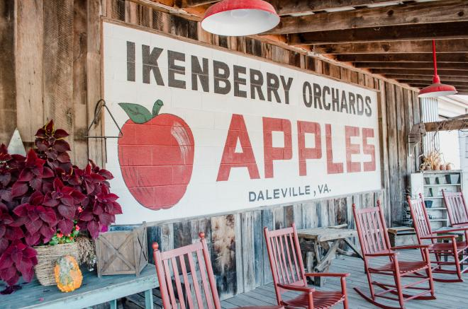 Ikenberry Orchards Country Store - Daleville, VA