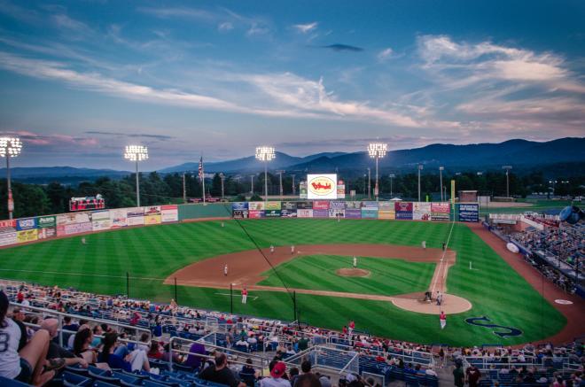 Salem Memorial Baseball Stadium - Salem Red Sox