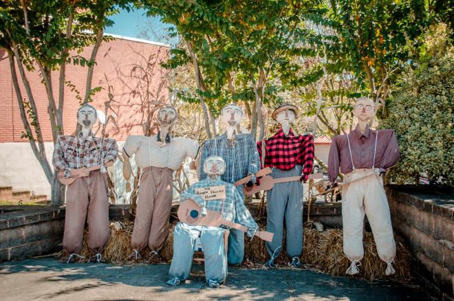 Rocky Mount Scarecrow Trail - Band
