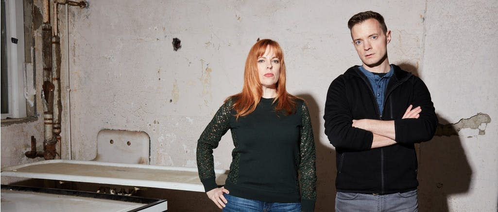 Behind the Hauntings: An Intimate Evening with Amy Bruni and Adam Berr