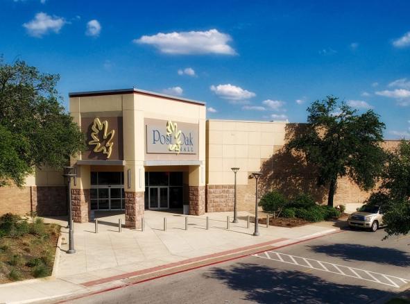 Post Oak Mall Exterior