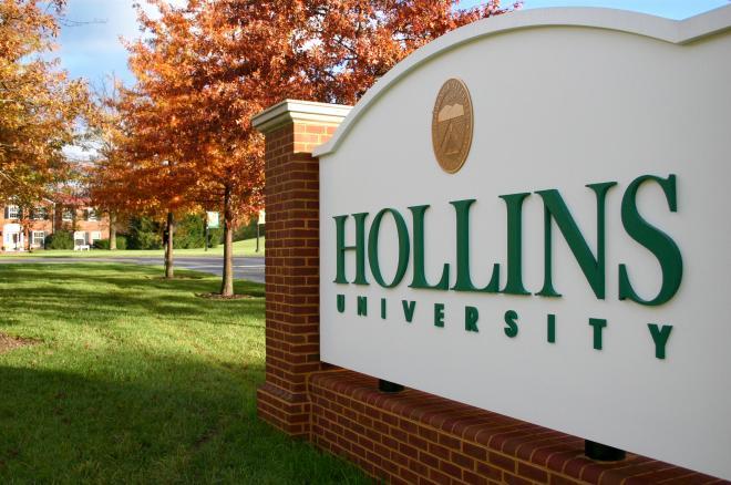 Hollins University Entrance - Roanoke
