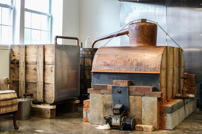 Moonshine Still - Twin Creeks Distillery, Franklin County, Virginia