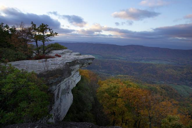 McAfee Knob - Catawba Mountain