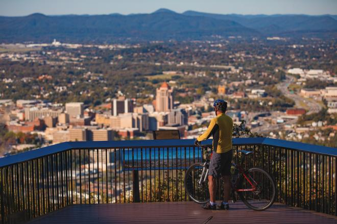 Mill Mountain Overlook - Bicycle
