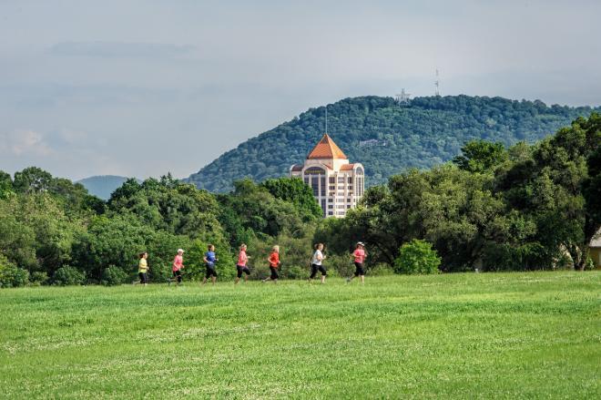 Roanoke Greenway Running