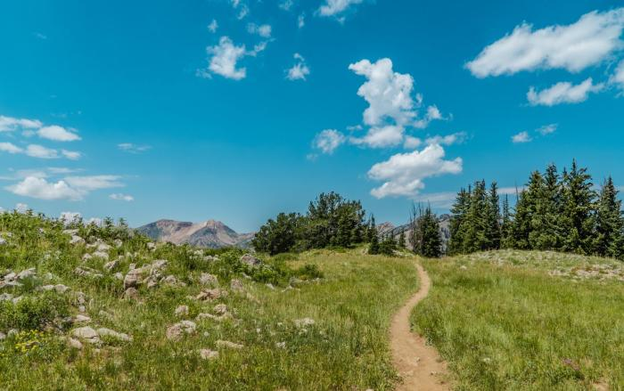 Timpanogos Trail in Utah Valley