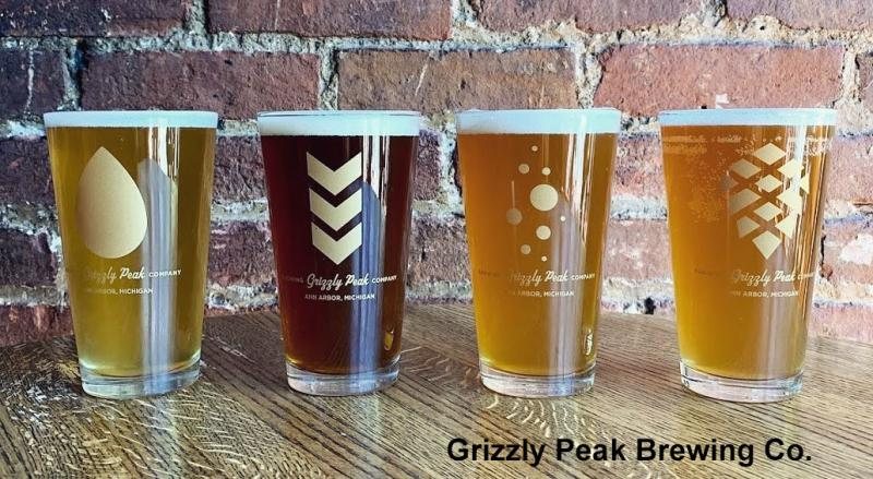 Grizzly Peak Brewing Company draught beers