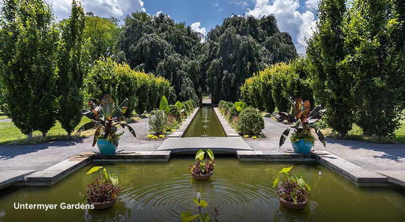Untermyer Gardens wedding page