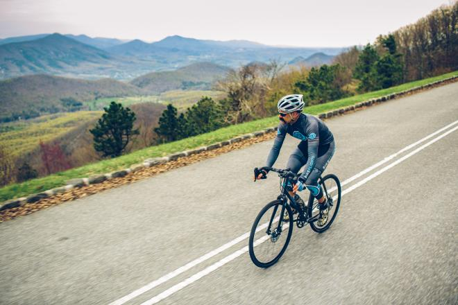 Biking - Blue Ridge Parkway - Botetourt County, Virginia