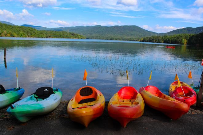 Kayaking - Carvins Cove, Roanoke, VA