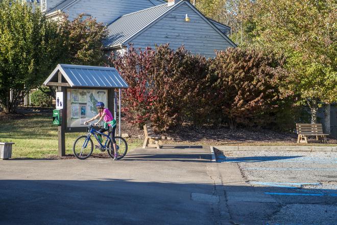 Explore Park Biking Roanoke