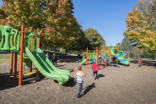 Highland Park Playground - Roanoke, VA