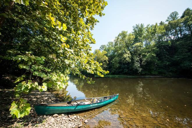 Upper James River Water Trail - Kayak