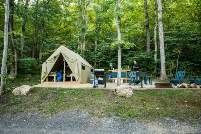 James River Glamping - Twin River Outfitter