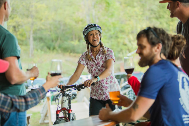Mountain Biker - Craft Brewery