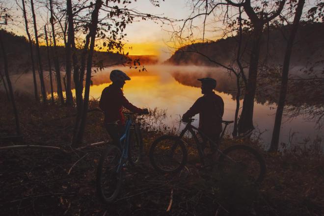 Roanoke, VA - Carvins Cove Mountain Biking