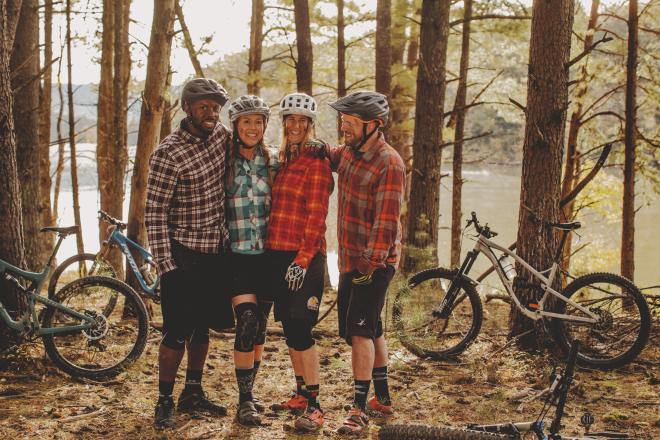 Mountain Bikers in Roanoke, Virginia