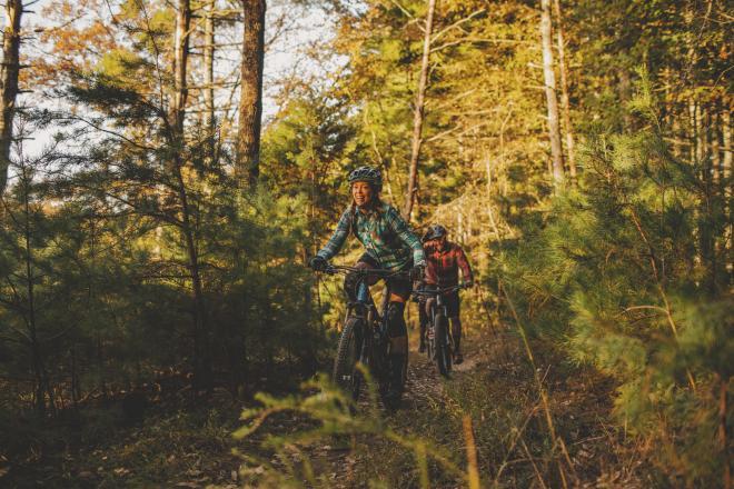 Mountain Bike Ride - Roanoke, Virginia