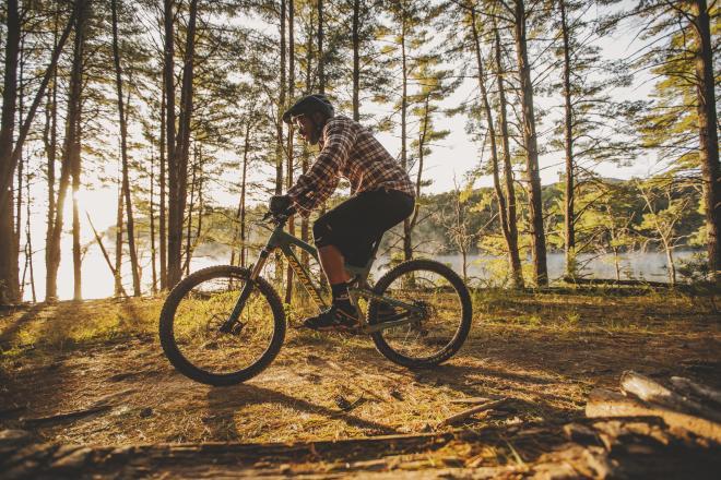 Mountain Biker - Roanoke, Virginia