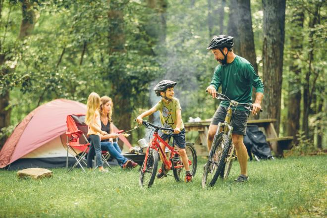 Explore Park - Family Mountain Biking