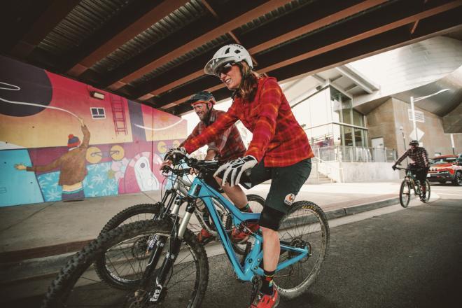 Bike Ride & Art Mural - Downtown Roanoke